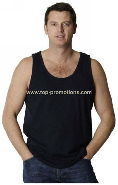 Men Cotton Promotional Singlet