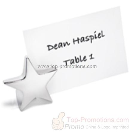 Standing Star Place Card Holders