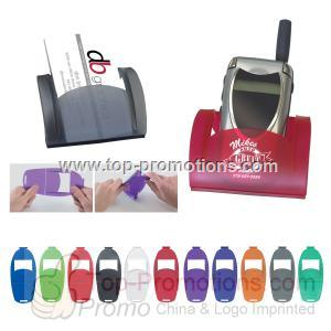 Cell Phone & Business Card Holder Combo