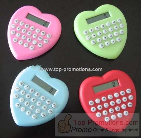 Heart Shape Calculator with Lanyard