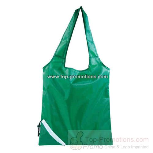 Green - Eco-foldable in A Pocket Tote Bag