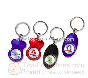 Domed Key Ring