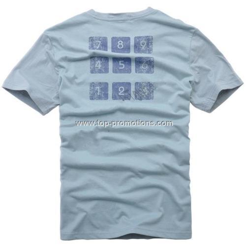 Calculator Design Man T-shirt