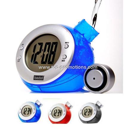 Water Powered Eco Clock