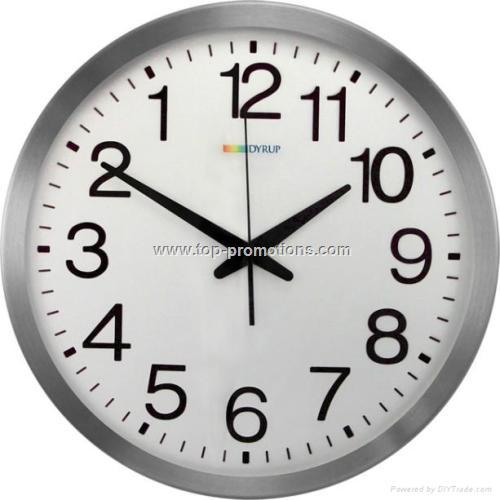 Anticlockwise Clock