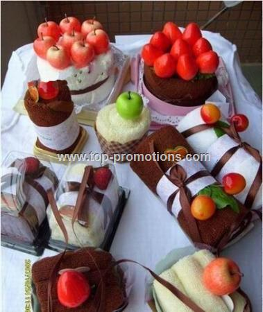 Promotional Cake Rolls Towels
