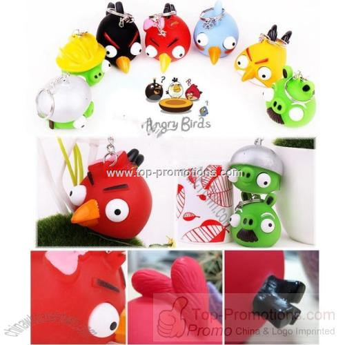 Angry Birds Poppin Peepers Keyring