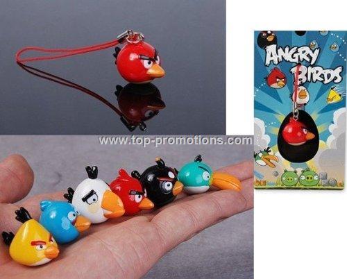 Angry Birds Cell Phone Charms