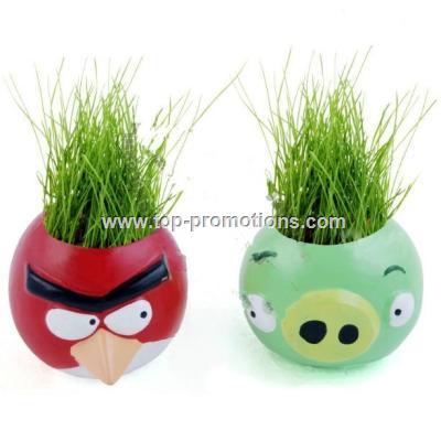 Angry Birds Office DIY Crop Mini Plants