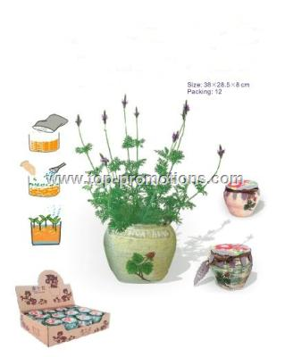 Mini Flower In Pot-Diy Flower