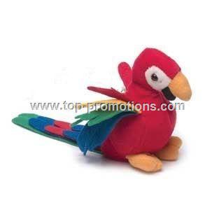 Parrot plush toy