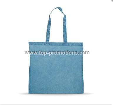 Denim Blue Washed Cotton Bag
