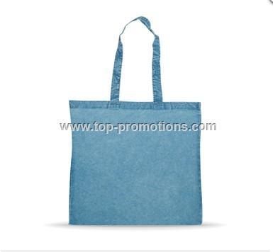 Denim Blue Washed Cotton Bag