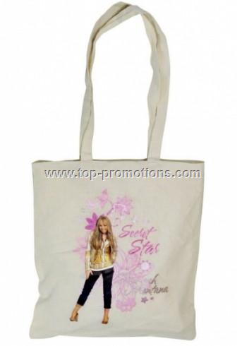 Organic Cotton Transfer Printed Bags