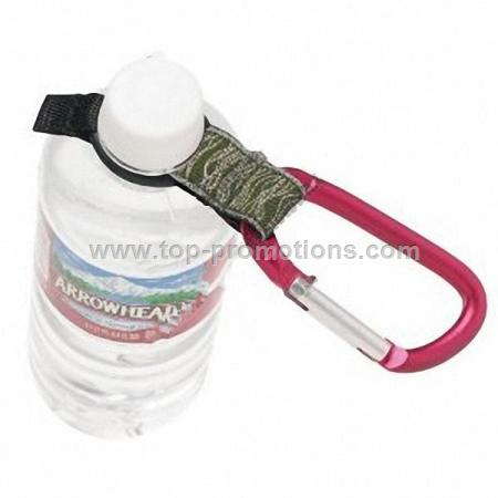 Chums Metal Spring Clip Bottle Holder Carabiner