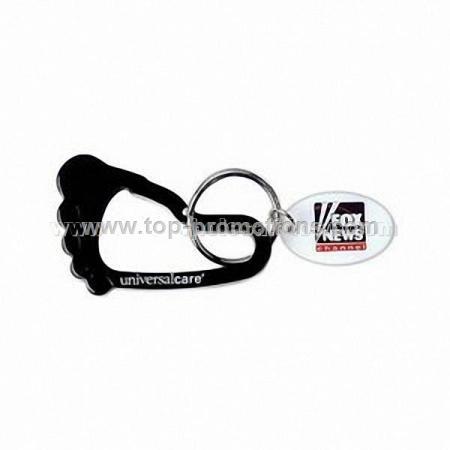 Foot Carabiner Keychain