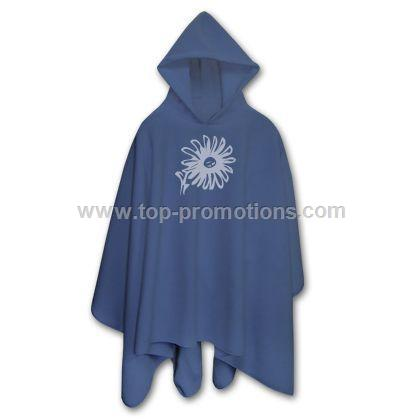 Urban Hooded Fleece Poncho