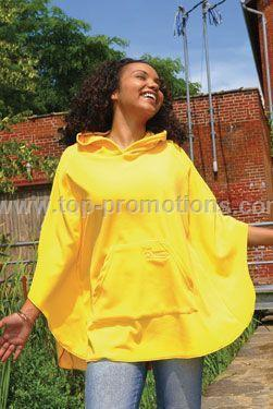 Ladies Micro Fleece Poncho