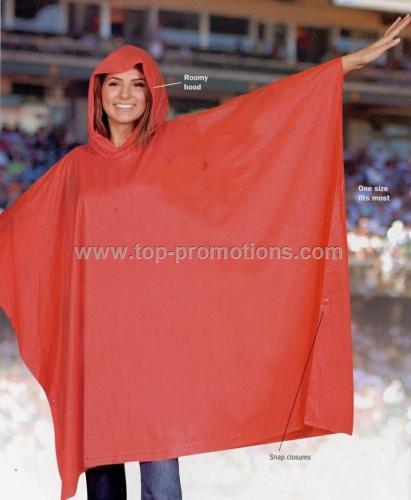 14 Mm Medium Weight Adult Rain Poncho