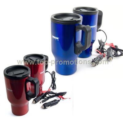 Stainless Steel Heater Travel Mug & Auto Mug with
