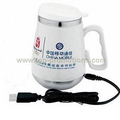 Electric Heating USB Ceramic Mug