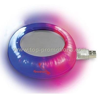 Lighted Color-Changing Mug Warmer