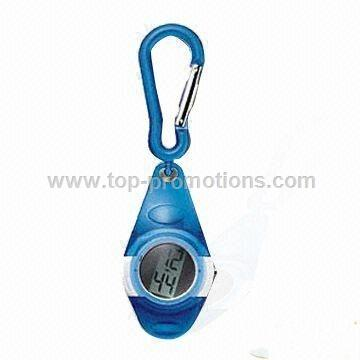 Clip Watch with Vertical LCD Module