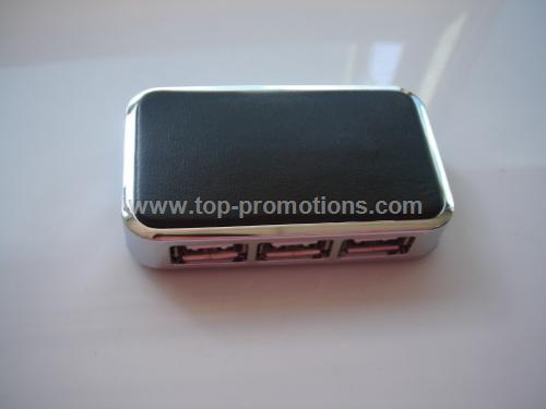 Four-port USB Hub with flyman