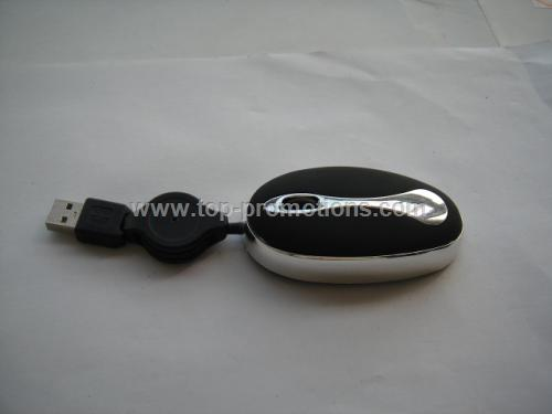 Wired Optical Mouse in Elegant Shape