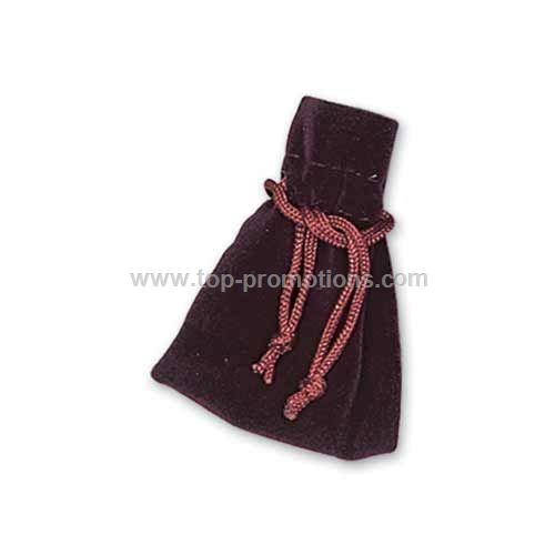 Velour gift pouch
