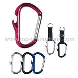 Carabiner with Bottle Opener