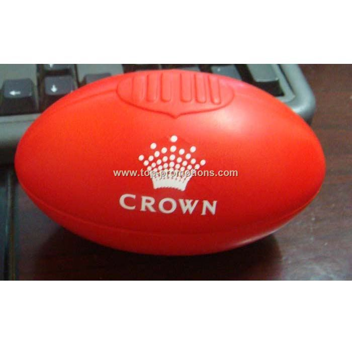 Rugby PU Stress ball