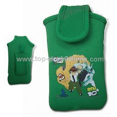 Mobile Phone Pouch with Lovely Cartoon Patterns
