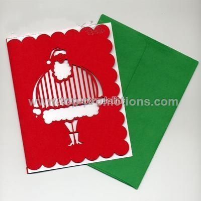 Jolly Santa Greeting Cards