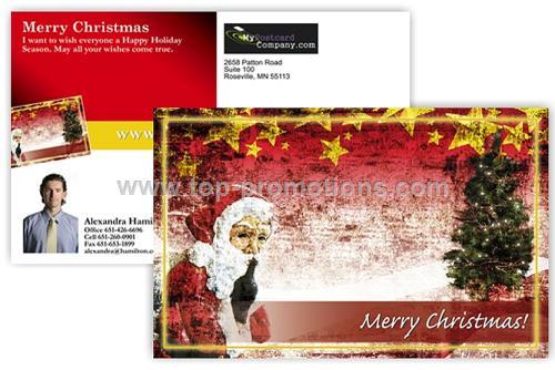 Jumbo holiday postcard