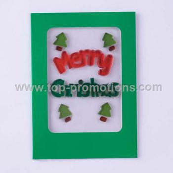Christmas Gel Gem Greeting Card