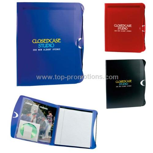 PolyPro Padfolio with Business Card