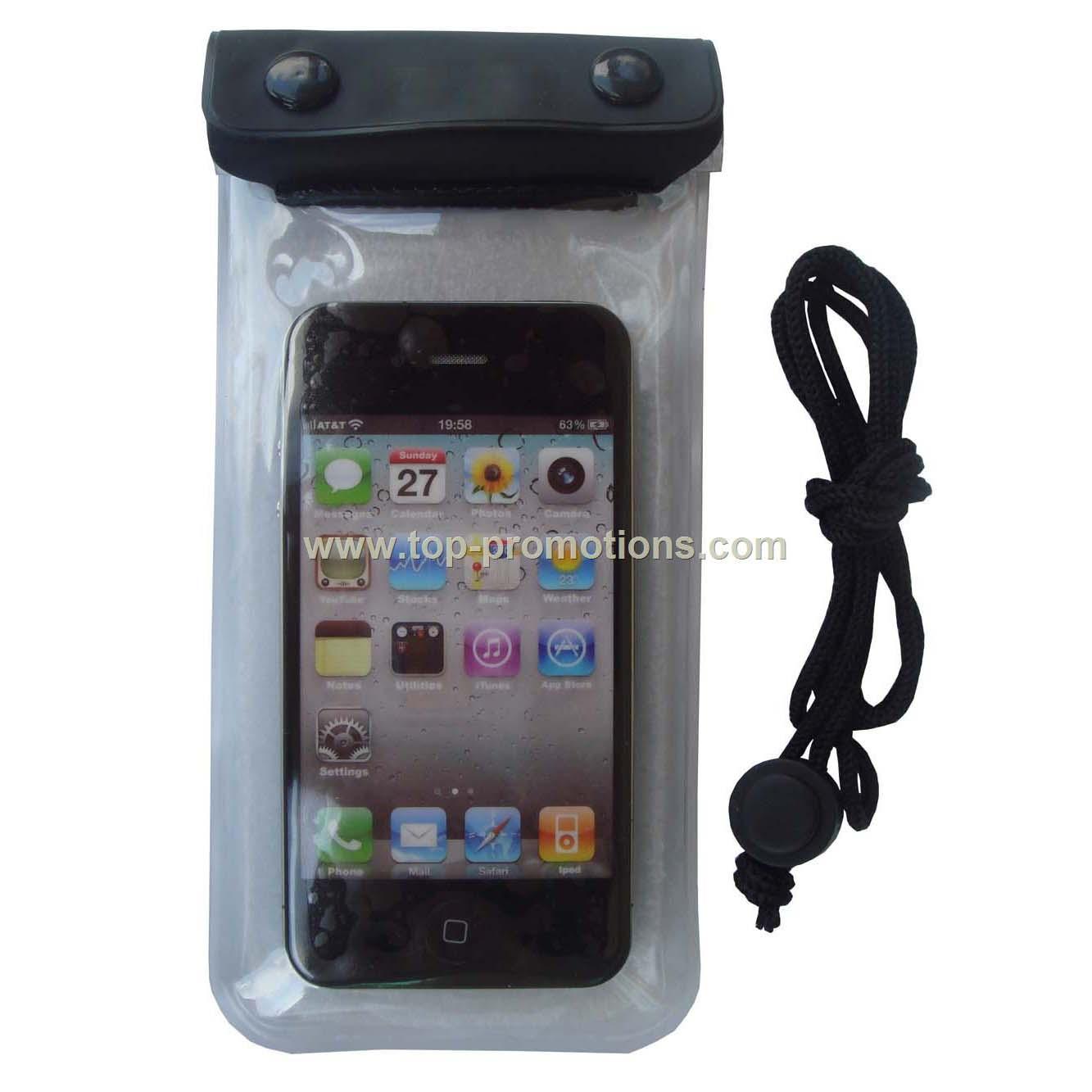 Waterproof cellphone bag