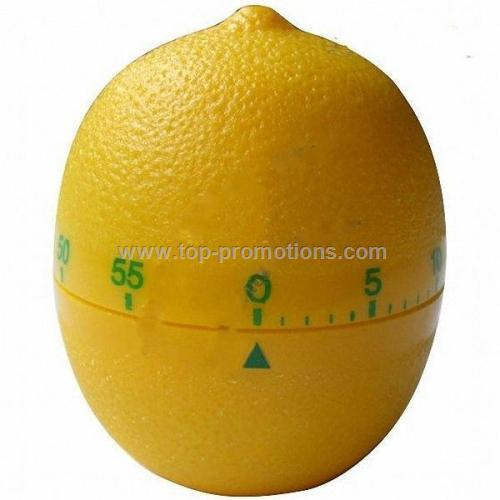 Lemon Shaped Mechanical Countdown Kitchen Timer
