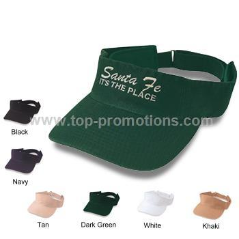 Unconstructed Cotton Twill Visor