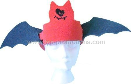 Bat Wings Foam Hat