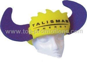 Bull Horns Foam Hat