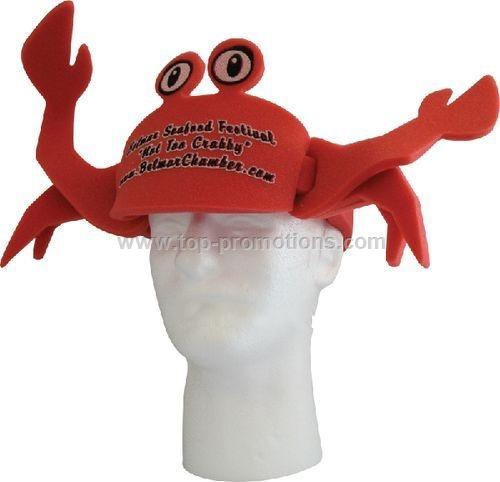 Crab Foam Hat