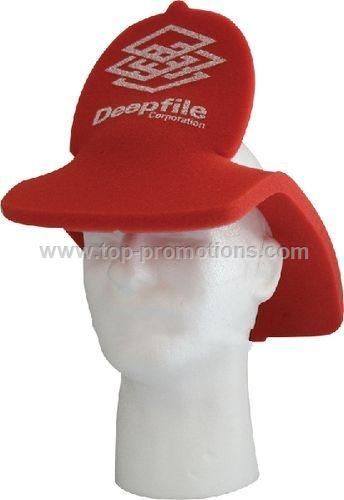 Fireman Foam Pop-Up Visor Hat