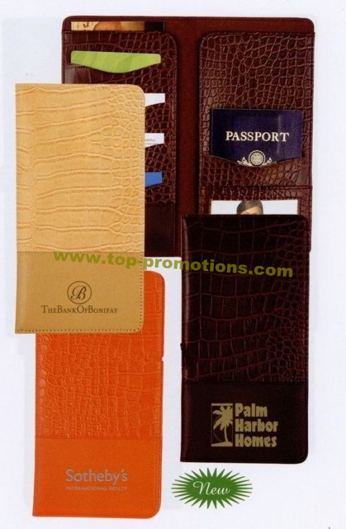 Orange Nile Travel Wallet