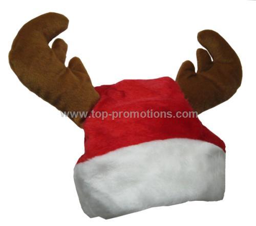 Reindeer Santa Hat