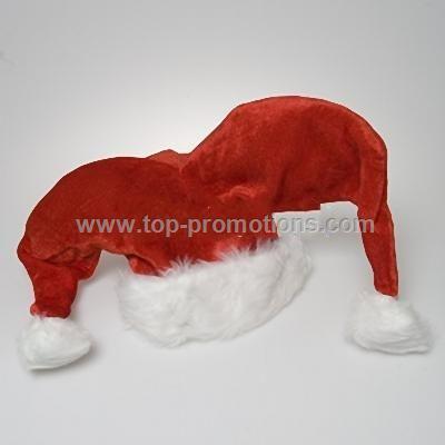 Plush Santa Jester Hat