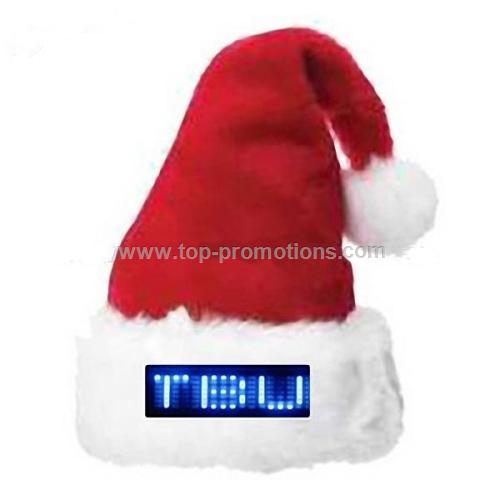 LED christmas hat