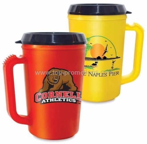 Usa Mugs 22 Oz. Thermal Mug With Drink Thru Lid