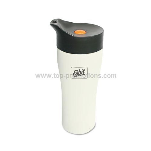 Stainless steel thermo mug double-walled
